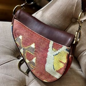 Dior Bags - Authentic Vintage Christina Dior Saddle Bag